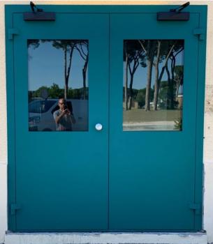 Porta Balistica Doppia Anta